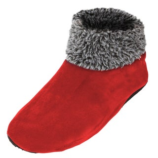 Men's Sherpa Lined Fleece Ankle Fuzzy Cozy Slipper Socks