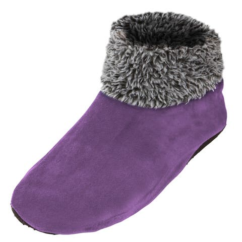 afa3eef57 Women s Sherpa Lined Fleece Ankle Fuzzy Cozy Slipper Socks