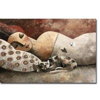The Invader by Didier Lourenco Gallery Wrapped Canvas Giclee Art (12 in x 18 in, Ready to Hang)