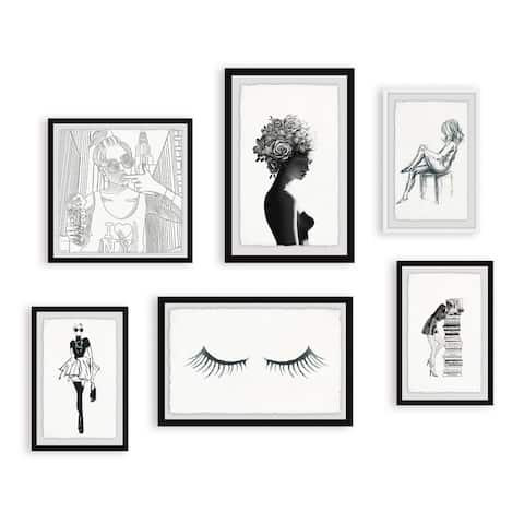 Marmont Hill - Handmade Fashion on All Angles Hexaptych Wall Art