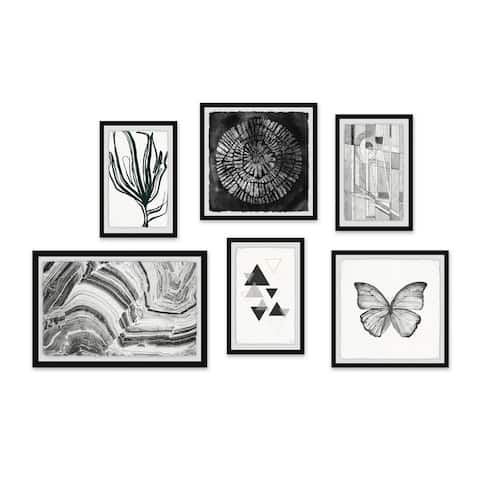 Marmont Hill - Handmade Fascinating Life Hexaptych
