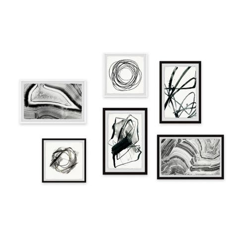 Marmont Hill - Handmade Lifes a Scrawl Hexaptych