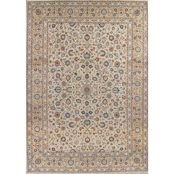 Shop Vintage Hand Made Wool Floral Persian Large Livingroom ...