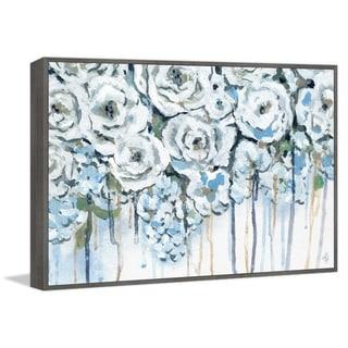 Marmont Hill - Handmade Flower Melt Floater Framed Print on Canvas