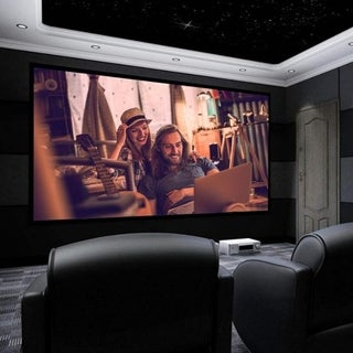 "Link to 100""/120"" 16:9 HD Home Theater Fixed Velvet Frame Projector Similar Items in Home Automation"
