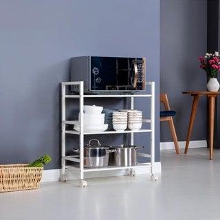 Link to 3/4Tier Steel Storage Shelving Kitchen Island Cart/w Wheels Similar Items in Kitchen Furniture