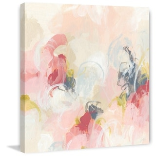 Link to Marmont Hill - Handmade Cherry Blossom IV Print on Wrapped Canvas Similar Items in Canvas Art