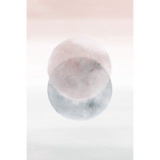 'Waning Moons' Painting Print on Wrapped Canvas - Multi-color