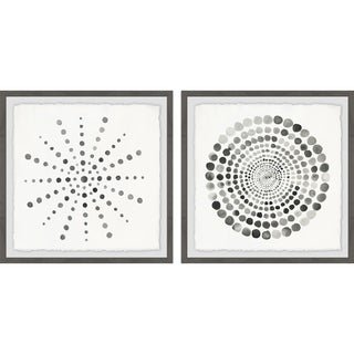 Dotted Portal Diptych - Multi-color