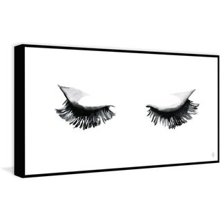 Marmont Hill - Handmade Silent Blink II Floater Framed Print on Canvas