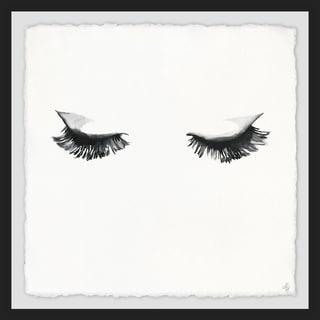 Marmont Hill - Handmade My Favorite Mascara Framed Print