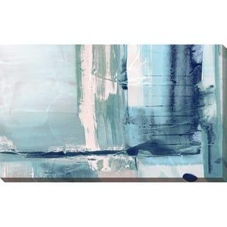 """Miss The Sea I"" by Susan Jill Print on Canvas - Blue"