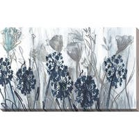 """Indigo Field"" by Susan Jill Print on Canvas - Blue"