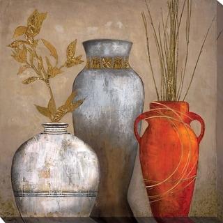 """""""Mia Casa Portofino I"""" by Tava Studios Print on Canvas - Brown"""