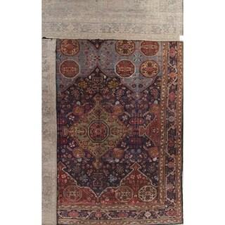Antique Handmade Geometric Malayer Jojan Persian Exxtra Large Area Rug - 22' 6'' x 14' 5''