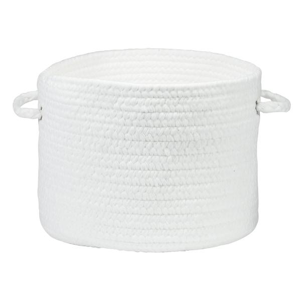 """Simply Soft Nursery Basket - White Dream 12""""x12""""x8"""""""