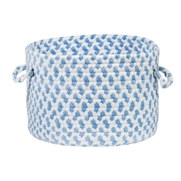 "Simply Soft Nursery Basket - Cloud Blue 16""x16""x10"""