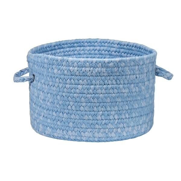 """Simply Soft Nursery Basket - Periwinkle 16""""x16""""x10"""""""