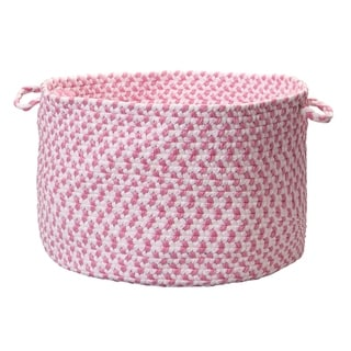 "Taylor & Olive Sangam Pink Woven Kid's Basket - 12"" x 16"""