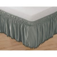 Elegant Comfort Luxury Pom Pom Bed Skirt