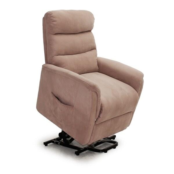 Shop Lifesmart Ultra Comfort Mocha Lift Chair with Heat
