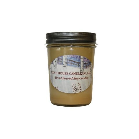Cove House Candle Co Pumpkin Pie Spice Pure Soy Jar Candle
