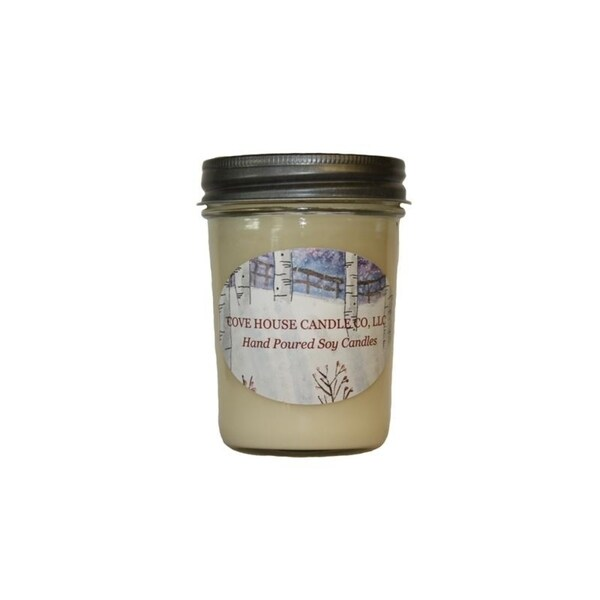 Cove House Candle Co Santas' Whiskers Pure Soy Jar Candle