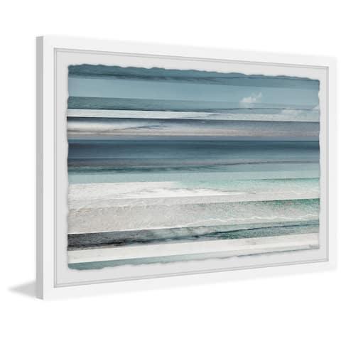 Handmade Himara Framed Print