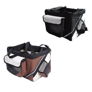 6-10kg Portable Travel Cycling Front Pet Carrier Dog Cat Seat 2 Colors