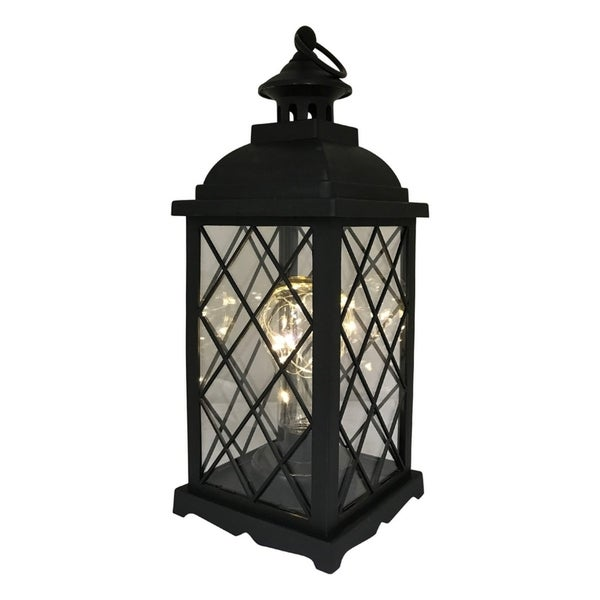 Creative Motion Battery Operated Rectangular Decorative LED Lantern