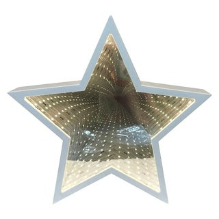 Creative Motion Battery Operated Decorative Star Tunnel Mirror Light