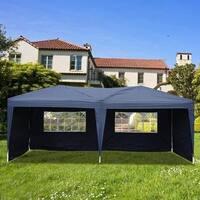 10'X20' POP UP Foldable Wedding Party Gazebo Canopy Tent W/4 Walls