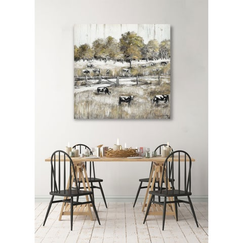 Lazy Grazing -Gallery Wrapped Canvas