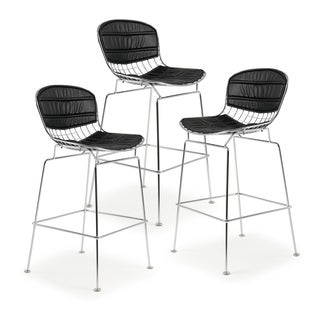 Poly and Bark Morph Counter Stool (Set of 3)