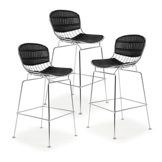 Link to EdgeMod Morph Counter Stool (Set of 3) Similar Items in Dining Room & Bar Furniture