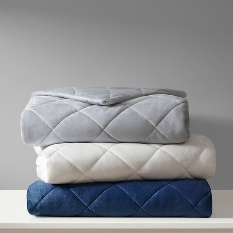 Beautyrest Luxury Quilted Mink Weighted Blanket