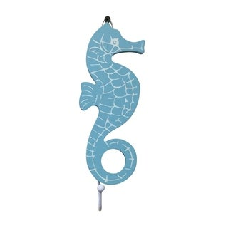 Creative Motion Nautical Theme Wood Sea Dragon Design Cloth Hook