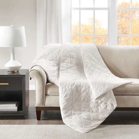 Beautyrest Deluxe Quilted Cotton Weighted Blanket