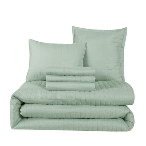 Honeymoon 6 Piece Comforter Set Elegant Comfort Bedding Set