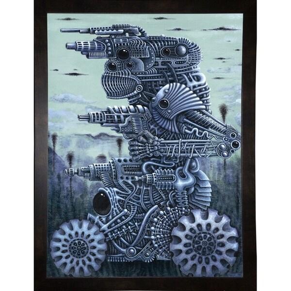 "War Machine Print 36""x26.625"" by Robert Connett -ROBCON272102"