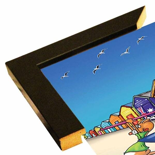 """153878 Brighton Beach Mockup-FSPEAR129976 Print 9.25""""x6.5"""" by Frank Spear"""