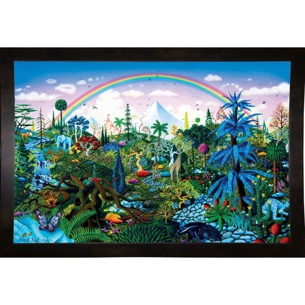 "Rainbow Forest Print 24""x36.25"" by Michael Fishel -MICFIS271957"