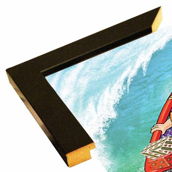 "153343 Sleigh Surfing-FSPEAR129920 Print 7""x4.75"" by Frank Spear"