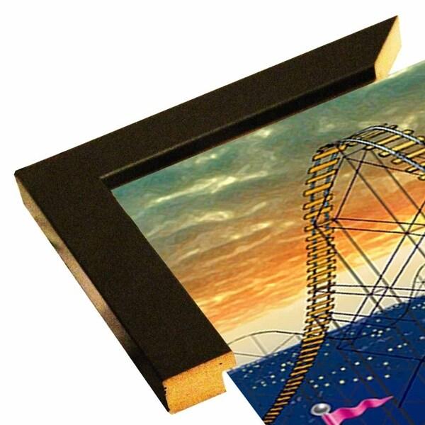 "153311 Rollercoaster-FSPEAR132373 Print 7""x4.75"" by Frank Spear"