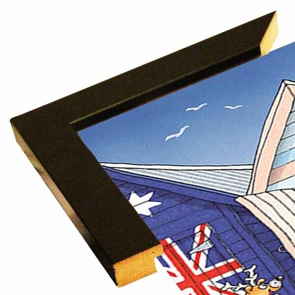 """153431 Beach Boxes-FSPEAR129941 Print 7""""x4.75"""" by Frank Spear"""