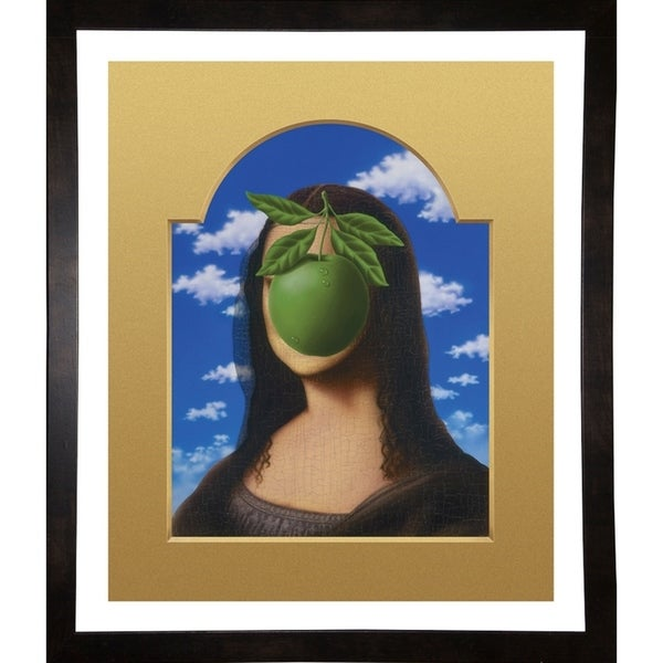 """Magrittalisa Print 28.5""""x24"""" by Terry Pastor -TERPAS272146"""