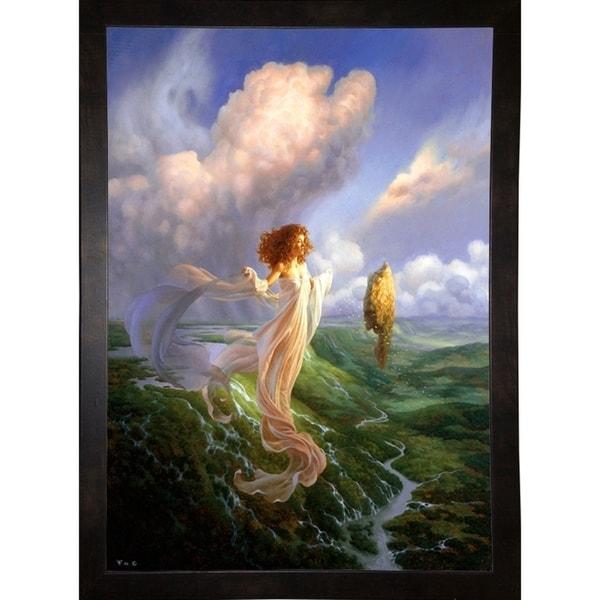 "Mistress of the Winds Print 25.5""x18"" by Christophe Vacher -CHRVAC271852"