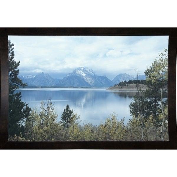 "Grand Teton 17-GORSEM69905 Print 11.5""x17.25"" by Gordon Semmens"