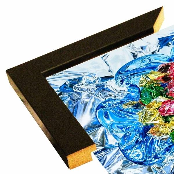 "Rhapsodie in Blue-FRACHA129548 Print 14""x14"" by Francois Chartier"