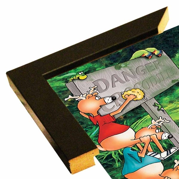 "153690 Rainforest Croc-FSPEAR129946 Print 11.75""x8.25"" by Frank Spear"